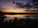 Twilight Over the Waters of the J. N. Ding Darling National Wildlife Refuge Photographic Print
