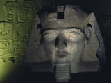 A Statue of Ramses Ii Photographic Print