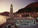 The Mosque of Al-Rawdha at Sunset Photographic Print