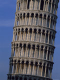 The Leaning Tower of Pisa Photographic Print by O. Louis Mazzatenta