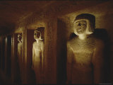 Tomb of Idu at Giza Photographic Print by Kenneth Garrett