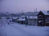 Winter View of the Town of Chernyshevskiy Photographic Print by Dean Conger