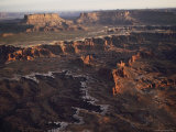 Scenic Rock Formations Photographed at Canyonlands National Park Photographic Print by Melissa Farlow