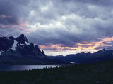 Twilight View of Tonquin Valley in Jasper National Park Photographic Print by Dean Conger