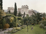 Period View of the Gardens at Theoule Photographic Print by Maynard Owen Williams