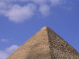 The Apex of an Eguptian Pyramid Photographic Print by O. Louis Mazzatenta