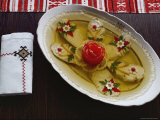 Russian Food Served Fancy Photographic Print by Dean Conger