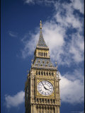 View of the Upper Half of Big Ben in London Photographic Print by Richard Nowitz