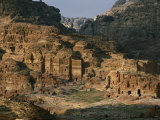 The Caves and Tombs of Petra were Carved by the Nabateans over 2000 Years Ago Photographic Print by Annie Griffiths