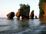Rock Formations Dot the Coastline of Rocks Provincial Park Photographic Print by James P. Blair
