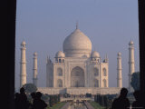 A View of the Taj Mahal from Just Inside the Gates Photographic Print by Bill Ellzey