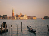 A View of the San Giorgio Maggiore Church on the Canale De San Marco Photographic Print