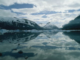 Mountains and Sky Reflected in Portage Lake Photographic Print by Scott Sroka