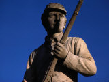 Statue of a Soldier Holding a Rifle at the Antietam National Battlefield Photographic Print by Sam Abell