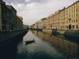 Scenic View of the Moika Canal Photographic Print by Dick Durrance