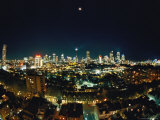 A Night View of Sydney Photographic Print by Nicole Duplaix