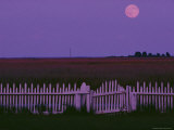 Moonrise over Smith Island Photographic Print by Robert Madden