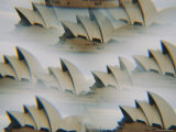 Multiple Exposure of the Sydney Opera House Photographic Print by Robert Madden