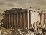 The Temple of Bacchus from the Northwest Photographic Print by Maynard Owen Williams