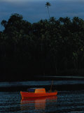 Sunrise with Fishing Boat Photographic Print by James L. Stanfield