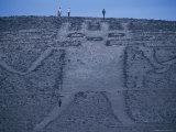 El Gigante, a 282 Foot Tall Geoglyph, in Cerro Unita Photographic Print by Joel Sartore