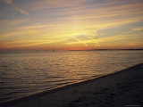 A Beach at Sunset Photographic Print by Raymond Gehman