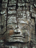 Detail of an Angkor Wat Temple Photographic Print by Steve Raymer