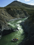Rafters Come Safely Through Rapids Near Sheep Creek Photographic Print by Raymond Gehman