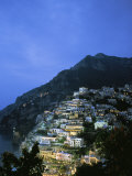 An Aerial View of Hillside Villages of Positano Photographic Print by Ed George