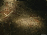 Unearthed after 2000 Years, a Mayan Mural Depicts the Corn God Photographic Print by Kenneth Garrett