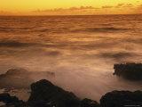 Sunrise over Makapuu Beach Photographic Print by Richard Nowitz