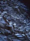Terraced Salt Pans in Use Since the Days of the Inca Fotografie-Druck von Pablo Corral Vega