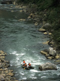 Rafting the Yang River Canyon, Shaoguan Area Photographic Print by Raymond Gehman