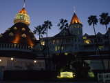 The Hotel de Coronado's Exterior, San Diego, California Photographic Print by Phil Schermeister