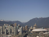 A View of the Skyline of Vancouver, Site of the 2010 Olympic Games Photographic Print by Taylor S. Kennedy