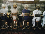 Operators at the White House Switchboard around 1960 Photographic Print