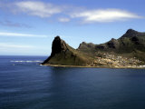 Rocky Cliffs Fall Sheer to the Water Near Hout Bay, Republic of South Africa Photographic Print by Stacy Gold