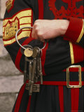 Yeoman with Keys to Queens Chapel Photographic Print by Richard Nowitz