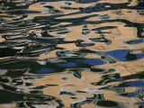 Venitian Houses Abstractly Reflected in the Canal Photographic Print by Todd Gipstein
