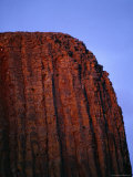 Close View of Devils Tower Photographic Print