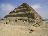 View of the Step Pyramid Fotografisk trykk av Stephen St. John
