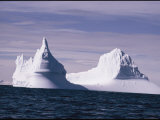 Icebergs Photographic Print by George F. Mobley