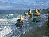 Rocks Jut out from the Sea Lámina fotográfica por Nicole Duplaix