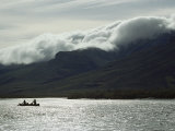 Canoeists on the Noatak River Photographic Print by Sam Abell