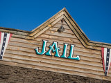 A Jailhouse Reconstructed to Look Like an Old Western Town Photographic Print by Taylor S. Kennedy