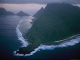 Aerial View of Ofu Island Photographic Print by Randy Olson