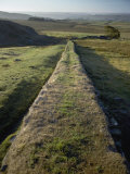 An Elevated View of Hadrians Wall Photographic Print