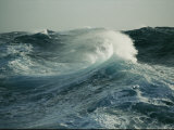 Close View of a Cresting Wave Photographic Print by Maria Stenzel