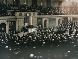 The First Color Photograph of a Joint Session of Congress Photographic Print by J. Baylor Roberts