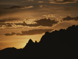 Twilight, Grand Teton National Park, Wyoming Photographic Print by Raymond Gehman